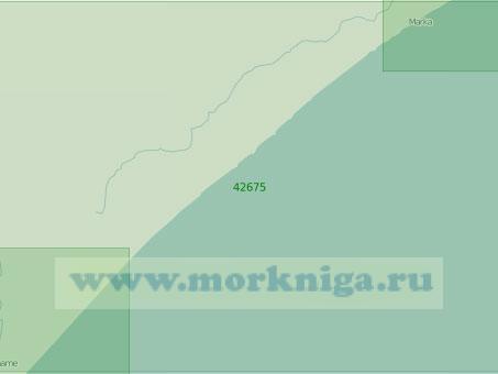 42675 От города Мерка до мыса Рас-Ланшунле (Масштаб 1:300 000)