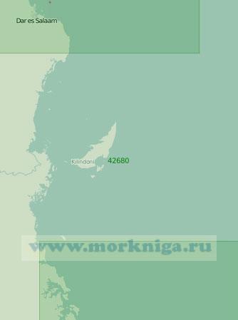 42680 От мыса Рас-Канзи до прохода Килва (Масштаб 1:300 000)
