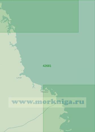 42681 От прохода Килва до мыса Делгаду (Масштаб 1:300 000)