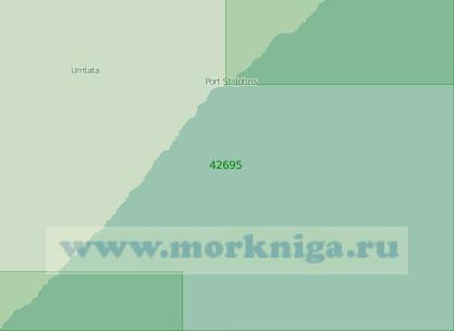 42695 От мыса Хермис до мыса Морган (Масштаб 1:250 000)