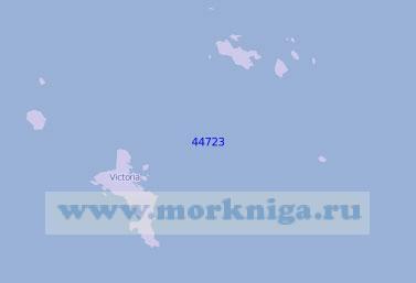 44723 Остров Маэ с подходами (Масштаб 1:125 000)