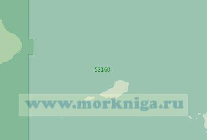 52160 От острова Сумба до острова Роти (Масштаб 1:250 000)
