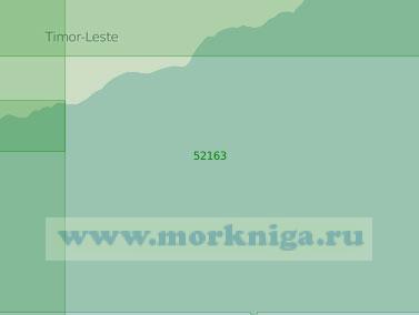 52163 От мыса Манемара (Лалете) до мыса Лоре (Су-Лоро) (Масштаб 1:250 000)