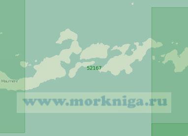 52167 От острова Флорес до острова Пантар (Масштаб 1:250 000)