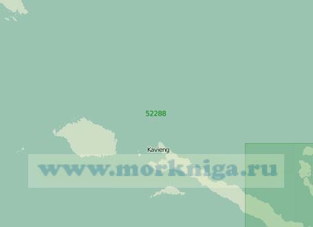 52288 От острова Муссау до островов Табар с проходом Исабель (Масштаб 1:300 000)
