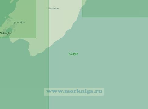 52492 От мыса Касл до Веллингтона (Масштаб 1:250 000)