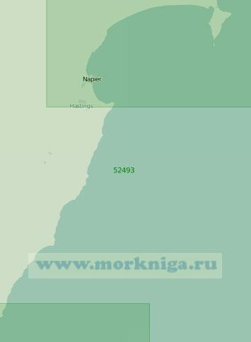 52493 От острова Портленд до мыса Касл (Масштаб 1:250 000)