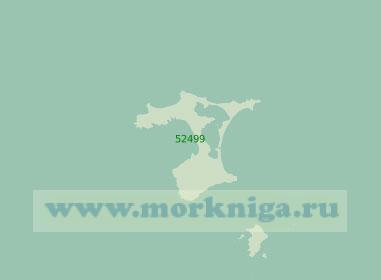52499 Острова Чатем (Масштаб 1:200 000)