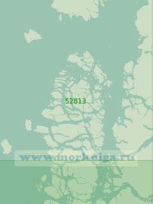 52813 От залива Корковадо до залива Дарвин с проливом Мораледа (Масштаб 1:300 000)