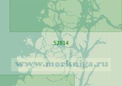 52814 От залива Дарвин до залива Айсен (Масштаб 1:200 000)
