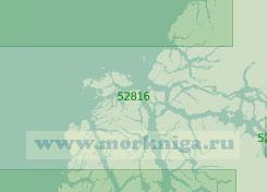 52816 От острова Хавьер до острова Патрисио-Линч с бухтой Бейкер (Масштаб 1:200 000)
