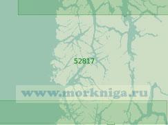 52817 От острова Патрисио-Линч до острова Морнингтон (Масштаб 1:200 000)