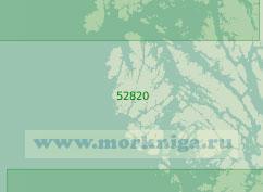 52820 От пролива Нельсон до Магелланова пролива (Масштаб 1:200 000)
