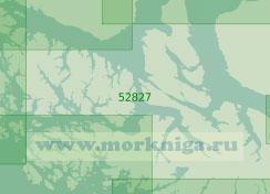52827 Средняя часть Магелланова пролива (Масштаб 1:200 000)