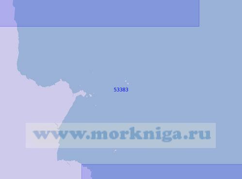 53383 От мыса Фэр до островов Ханнибал (Масштаб 1:150 000)