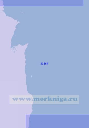 53384 От острова Файф до мыса Фэр (Масштаб 1:150 000)