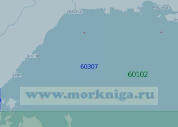 60307 От Сахалинского залива до Тауйской губы (Масштаб 1:1 000 000)