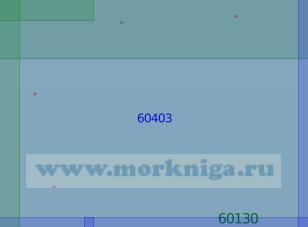 60403 От 44°40'N до 51°23N, от 158°20'E до 172°00'E (Масштаб 1:100000)