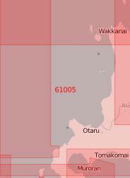 61005 От пролива Лаперуза до острова Окусири (Масштаб 1:500 000)