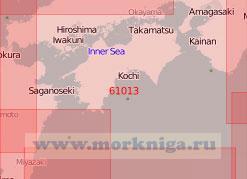 61013 От мыса Сиономисаки до мыса Тосаки с Внутренним Японским морем (Масштаб 1:500 000)