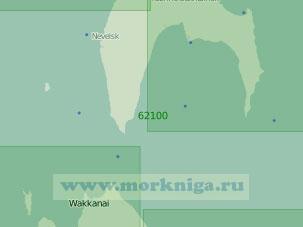 62100 Пролив Лаперуза с подходами (Масштаб 1:250 000)