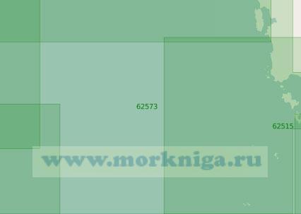 62573 От островов Вай до острова Конг (Масштаб 1:250 000)
