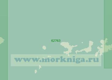 62763 От острова Семисопочный до острова Адак (Масштаб 1:250 000)