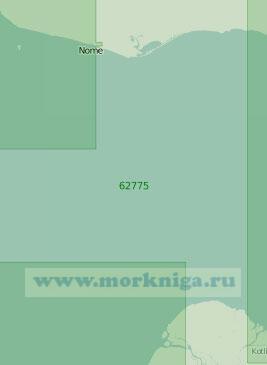 62775 Западная часть залива Нортон (Масштаб 1:250 000)