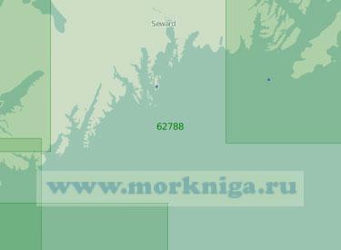 62788 От бухты Порт-Дик до пролива Монтагью (Масштаб 1:250 000)