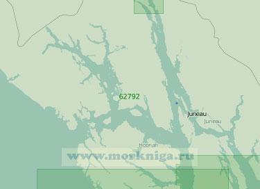 62792 От мыса Южный (Харбор) до мыса Федоровича (Масштаб 1:250 000)