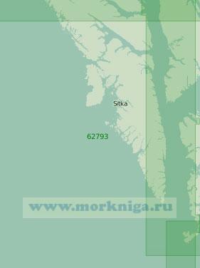 62793 От мыса Федоровича до острова Коронейшен (Масштаб 1:250 000)