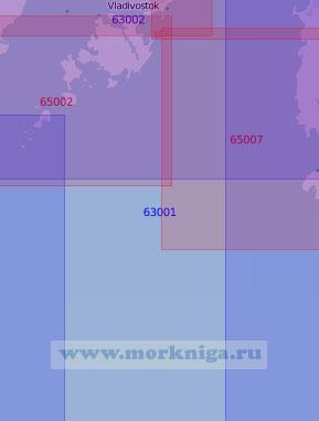 63001 От Владивостока до острова Аскольд (Масштаб 1:100 000)