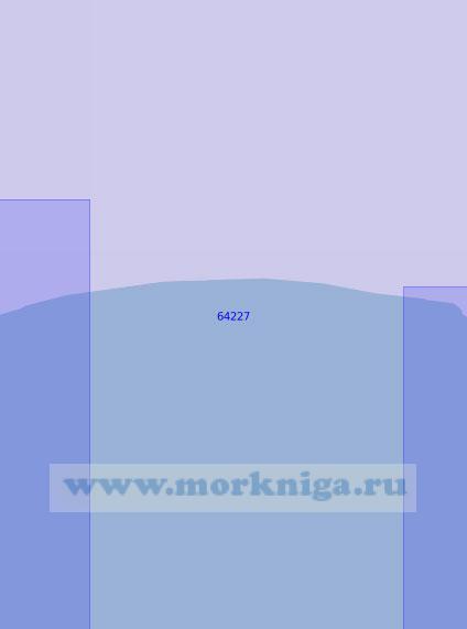 64227 От устья рек Майна и Пилгын до реки Пика (Масштаб 1:100 000)