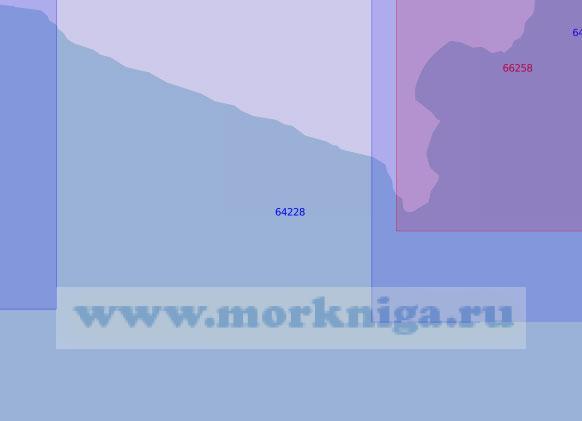 64228 От реки Пика до мыса Наварин (Масштаб 1:100 000)