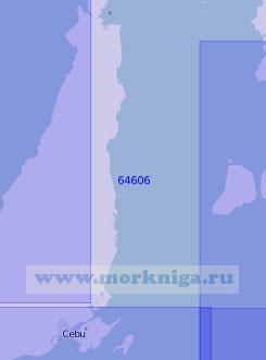 64606 Западная часть моря Камотес (Масштаб 1:100 000)