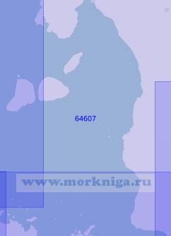 64607 Восточная часть моря Камотес (Масштаб 1:100 000)