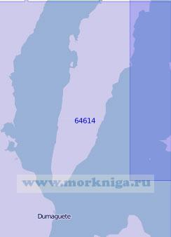 64614 Южные части проливов Таньон и Бохоль (Себу) (Масштаб 1:100 000)