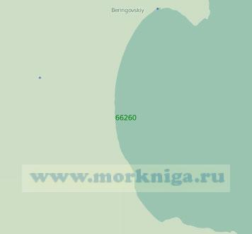 66260 Бухта Угольная с лагуной Лахтина (Масштаб 1:25 000)