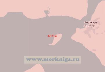 66714 Порт Анкоридж с подходами (Масштаб 1:50 000)