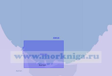 69018 Порт Аомори с подходами (Масштаб 1:20 000)