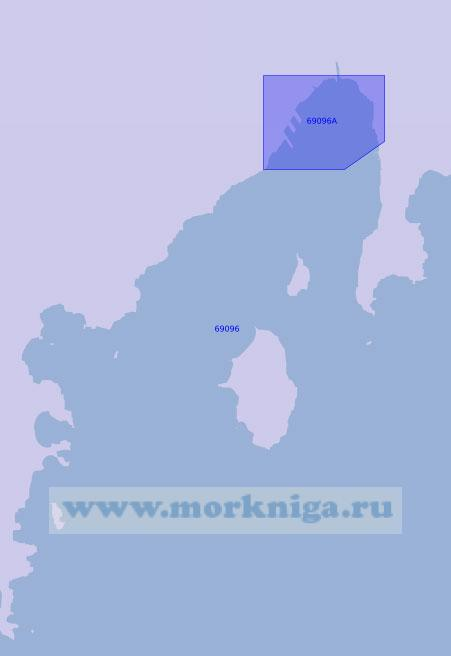 69096 Порт Наджин с подходами (Масштаб 1:20 000)
