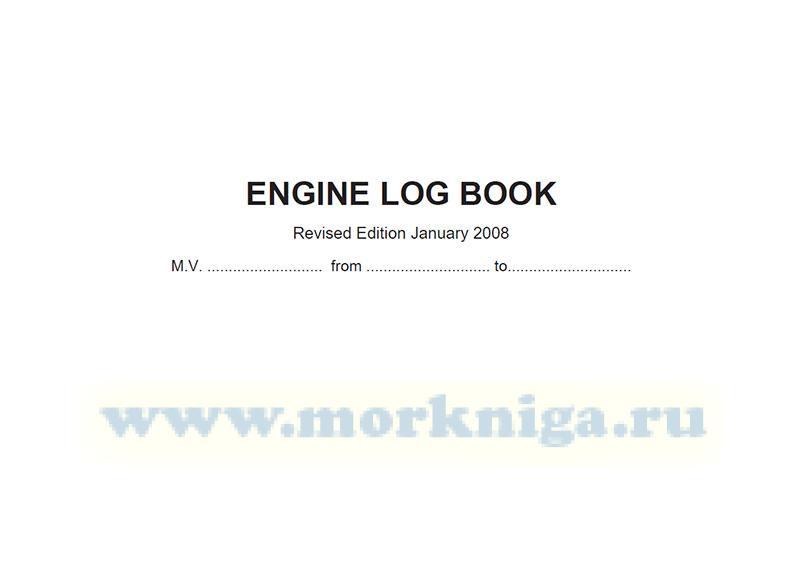 Engine Log Book
