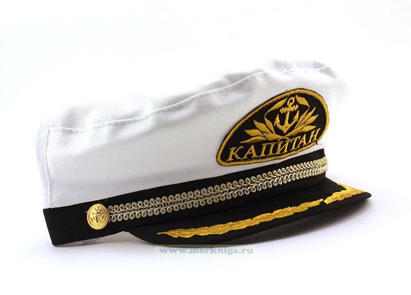 Капитанка с вышитым шевроном