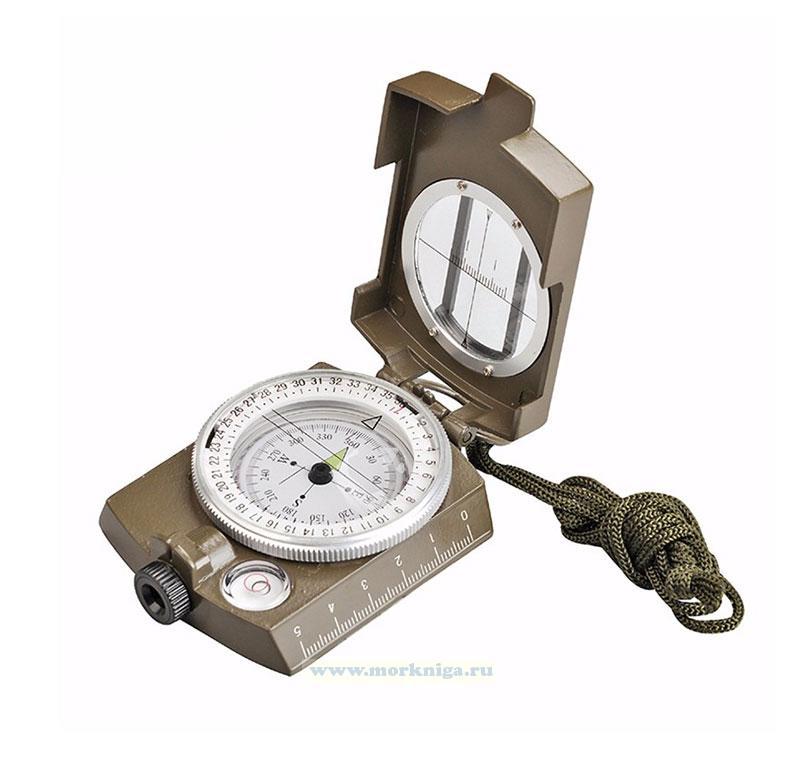 Жидкостной военный компас с пеленгатором