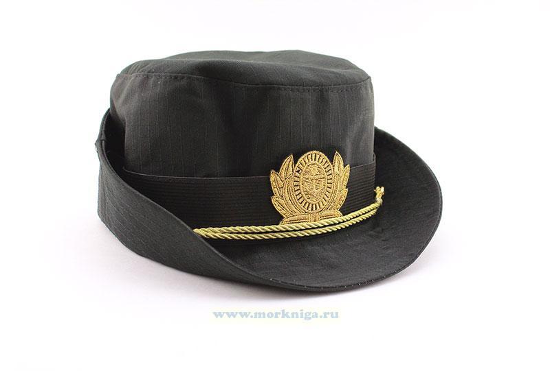 Шляпка женская ВМФ черная уставная
