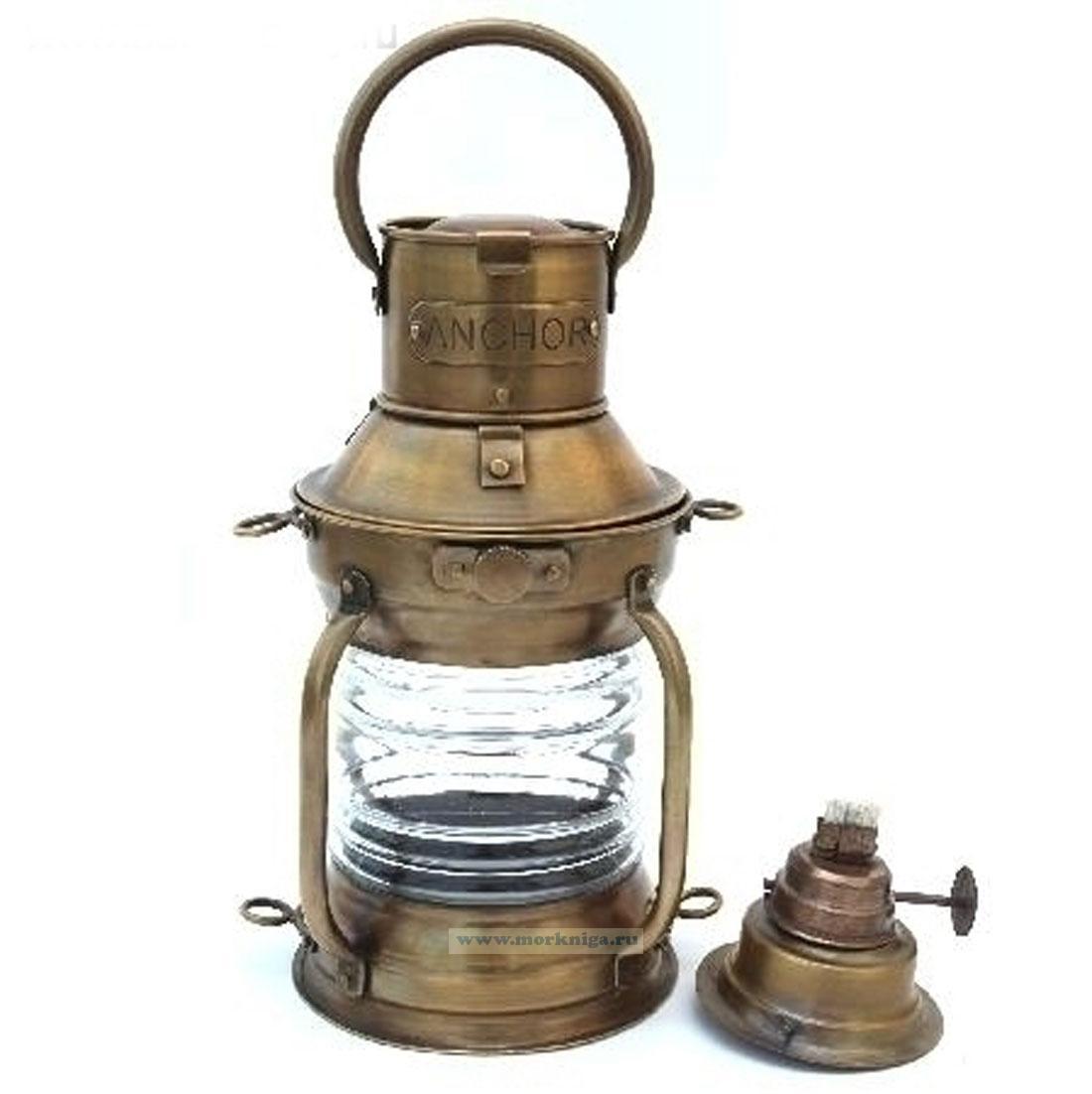 Лампа топовая керосиновая 7,5 дюймов
