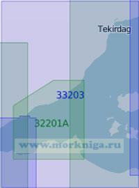 33203 Мраморное море. Западная часть (Масштаб 1: 100 000)