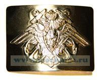 Бляха матросская ВМФ РФ (якорь, орёл, латунь)