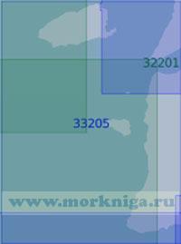33205 Подходы к проливу Дарданеллы (Масштаб 1:100 000)