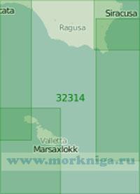 32314 Мальтийский пролив (Масштаб 1:200 000)